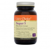 Udo's Choice Super 5 - Oral Health Probiotic 60 lozenges