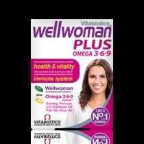Vitabiotics Wellwoman Plus 3.6.9 56 Tablets