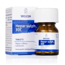 Weleda Hepar Sulph 30C 125 tabs