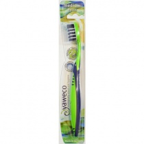 Yaweco Toothbrushes - Nylon - Medium - Assorted Colours
