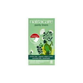 Natracare Normal Panty Liners Wrapped 18's