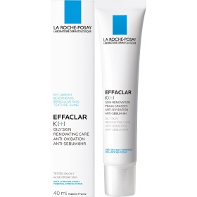 La Roche-Posay Effaclar K [+] - Renovating Care for Oily Skin 40ml