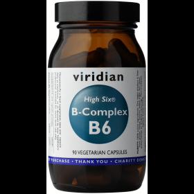 Viridian High Six B-Complex Veg Caps 90caps