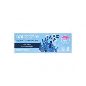 Natracare Super Plus Non-Applicator Organic Cotton Tampons 20's