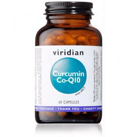 Viridian Curcumin Co-Q10 Veg Caps 60caps