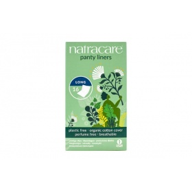 Natracare Long Panty Liners Wrapped 16's