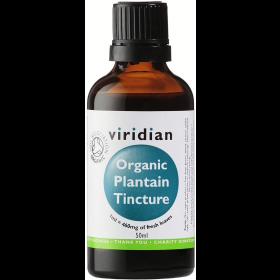 Viridian Organic Plantain tincture 50ml