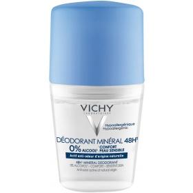 Vichy Mineral Deodorant Roll-on 48h, 50ml