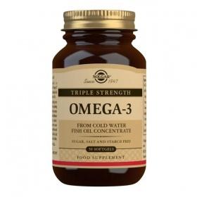 Solgar Triple Strength Omega 3 Softgels - Pack of 50