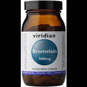 Viridian Bromelain 500mg Veg Caps 90caps