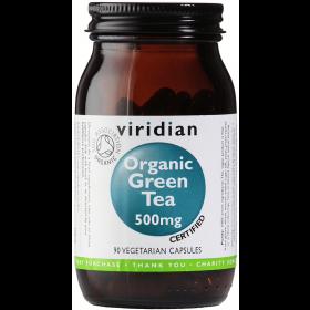 Viridian Organic Green Tea 500mg Veg Caps 90caps