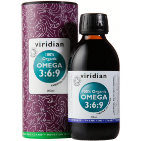Viridian 100% Organic Omega 3:6:9 Oil 200ml