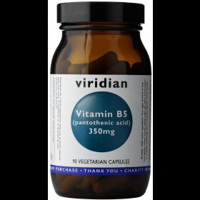Viridian Vitamin B5 350mg Veg Caps 90caps