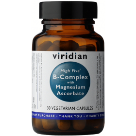Viridian High Five B-Complex with Magnesium Ascorbate Veg Caps 30caps