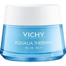 Vichy Aqualia Thermal Rehydrating Rich Cream - Dry to Very Dry Skin 50ml