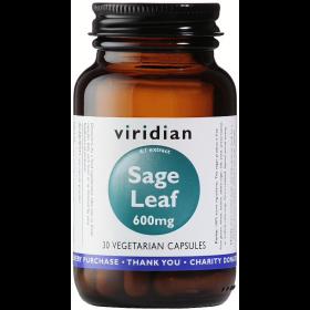 Viridian Sage Extract 600mg Veg Caps 30caps