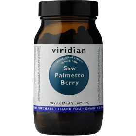 Viridian Saw Palmetto Berry Veg Caps 90caps