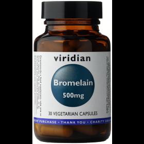 Viridian Bromelain 500mg Veg Caps 30caps