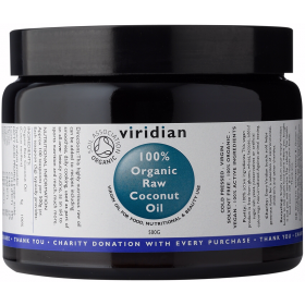 Viridian 100% Organic Raw Virgin Coconut Oil 500g