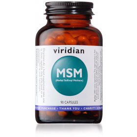 Viridian MSM (Methyl sulphonyl methane) Veg Caps 90caps