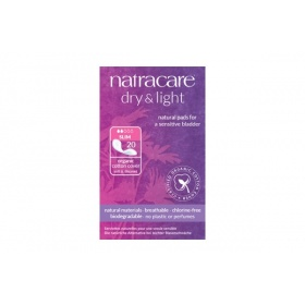 Natracare Dry & Light Slim Incontinence Pads 20's