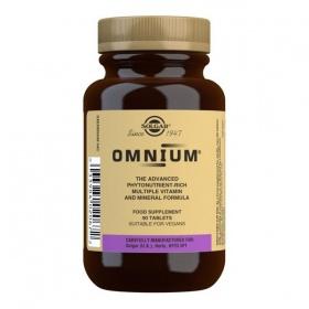 Solgar Omnium Multivitamin Tablets - Pack of 90