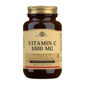 Solgar Vitamin C 1000 mg Vegetable Capsules - Pack of 100
