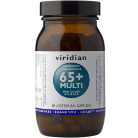 Viridian 65+ Multi Veg Caps 60caps