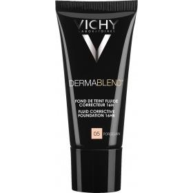 Vichy Dermablend Corrective Fluid Foundation 05 Porcelain 30ml