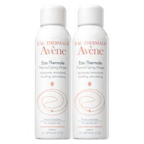 Avene Thermal Spring Water Duo Pack X2 150ml Bundle special offer