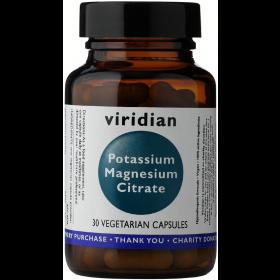 Viridian Potassium Magnesium Citrate Veg Caps 30caps