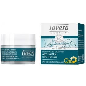 Lavera Basis Sensitiv Anti-Ageing Q10 Night Cream 50ml