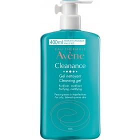 Avene Cleanance Soapless Gel Cleanser 400ml
