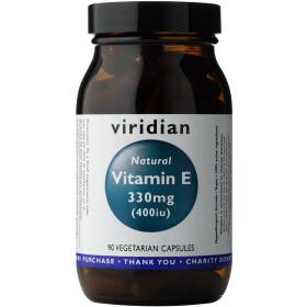 Viridian Natural Vitamin E 400iu Veg Caps 90caps