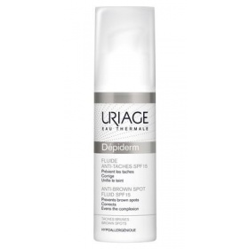 URIAGE DEPIDERM SPF 50  ANTI-BROWN SPOTS HIGH PROTECTION DAYTIME SKINCARE 30ml