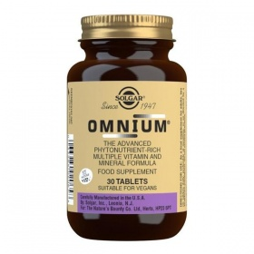 Solgar Omnium Multivitamin Tablets - Pack of 30