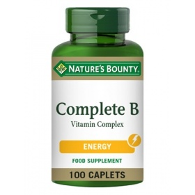 Nature's Bounty Complete B Vitamin Complex 100 Coated Caplets