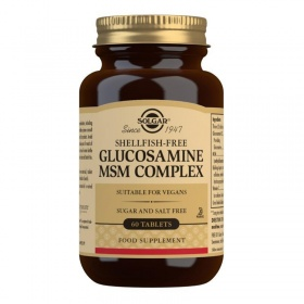 Solgar Glucosamine MSM Complex Tablets - Pack of 60