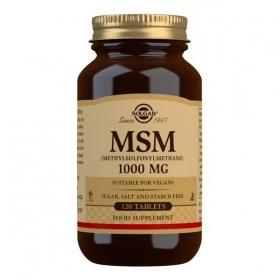 Solgar MSM 1000 mg Tablets - Pack of 120