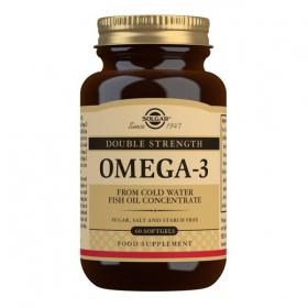 Solgar Double Strength Omega-3 Softgels - Pack of 60
