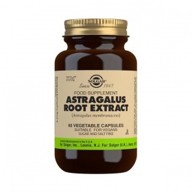 Solgar Astragalus Root Extract Vegetable Capsules - Pack of 60