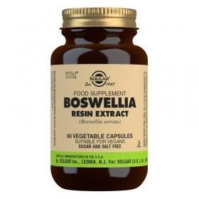 Solgar Boswellia Resin Extract Vegetable Capsules - Pack of 60