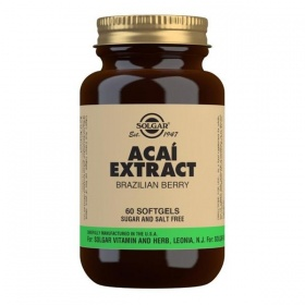 Solgar Acai Extract Softgels - Pack of 60