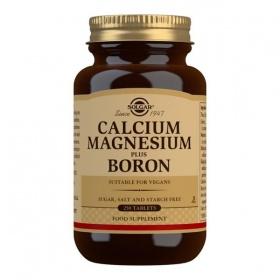 Solgar Calcium Magnesium Plus Boron Tablets - Pack of 250
