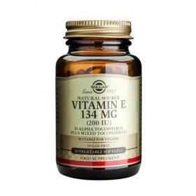 Solgar Vitamin E 134mg (200IU) 250 Softgels