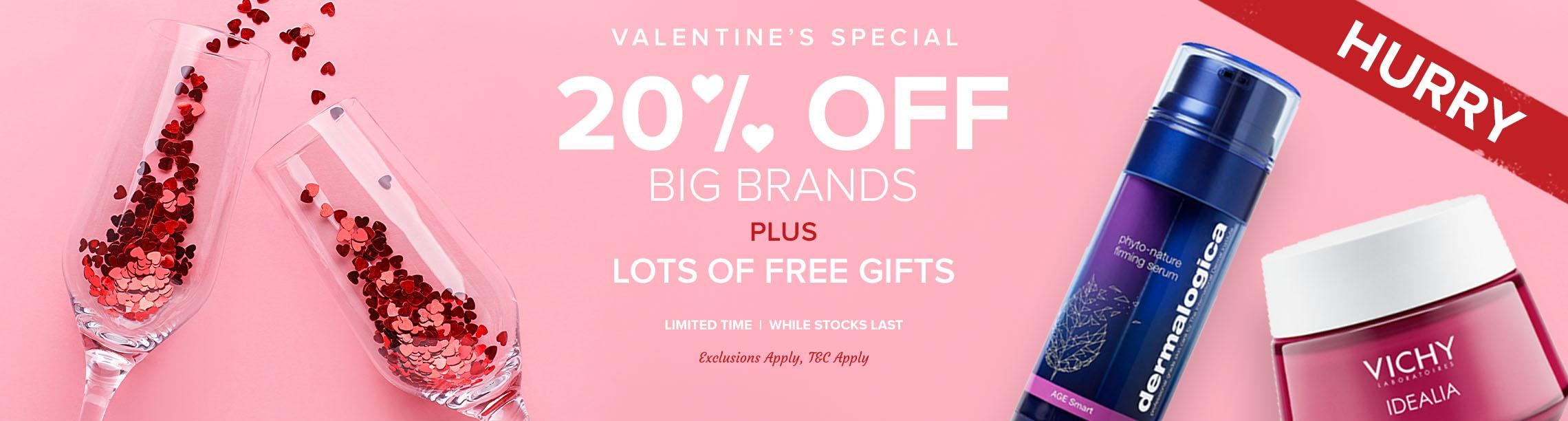 20% Off Big Brands