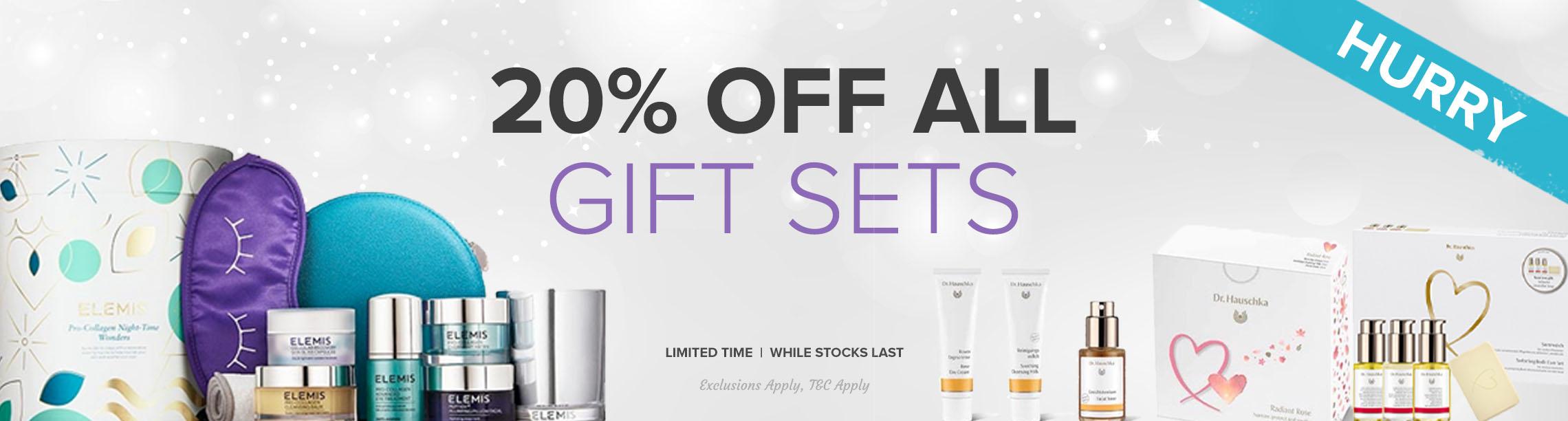 20% Off Gift Sets