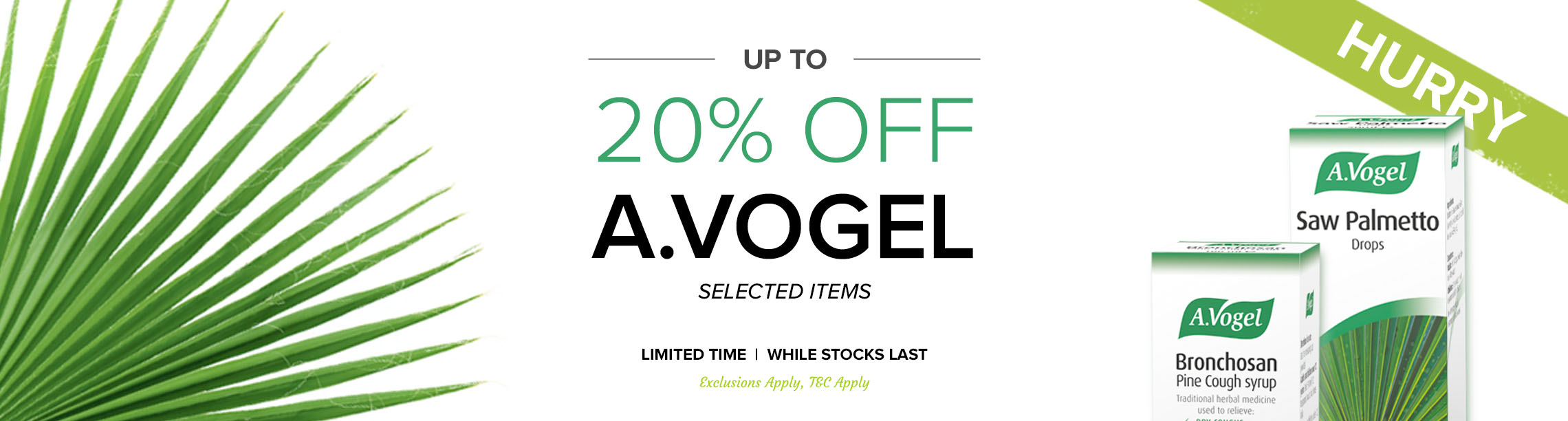 Up To 20% Off A Vogel