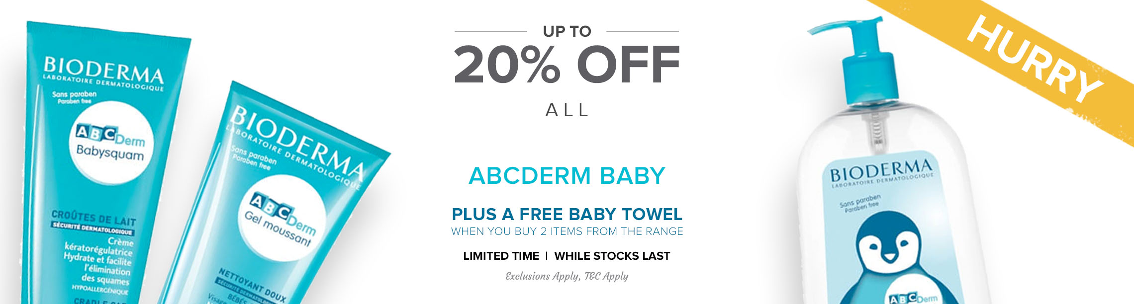 Up To 20% Off Bioderma