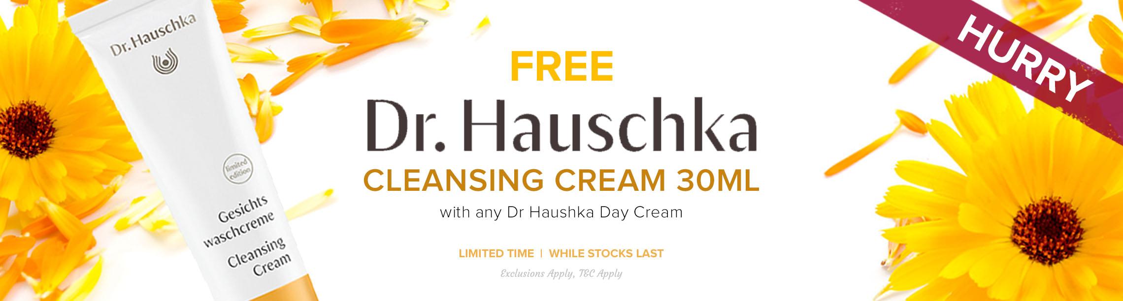 Free Dr Hauschka Cleansing Cream